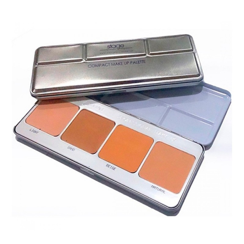 Compact Make Up Paleta (4 Colores)