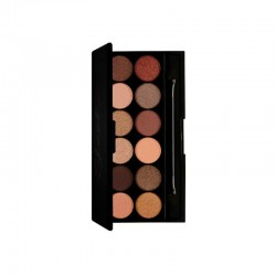 Paleta Sombras 12 Colores All Night Long
