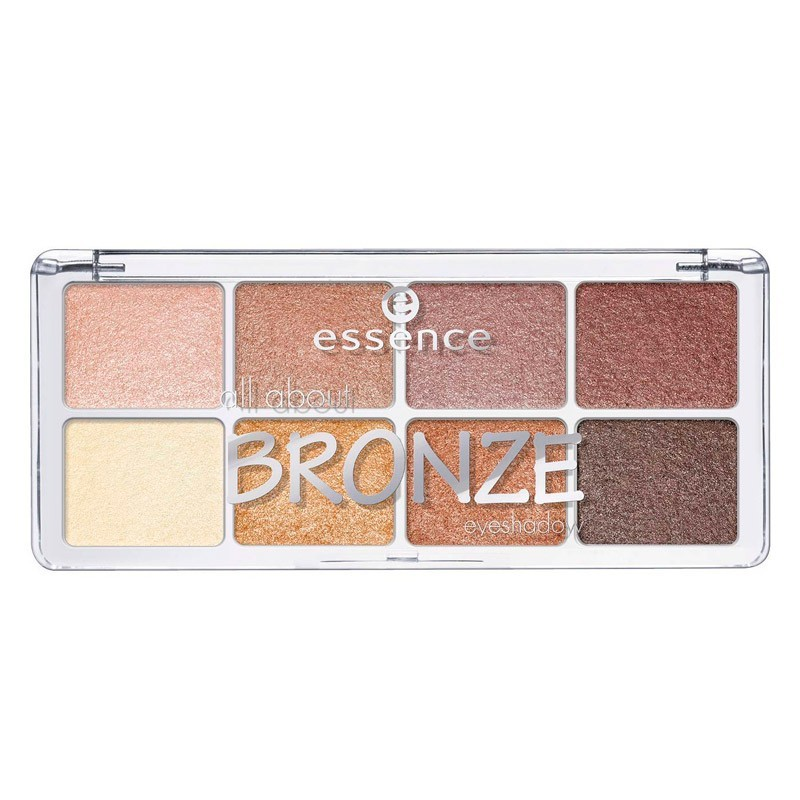 All About Bronze Eyeshadow Paleta 01