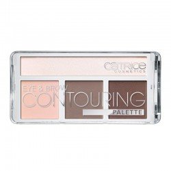 Paleta de Contouring para Ojos y Cejas 010  But First, Cold Chocolate