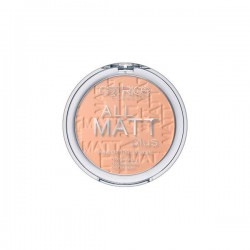 Polvo Matificante All Matt Plus 025 Sand Beige