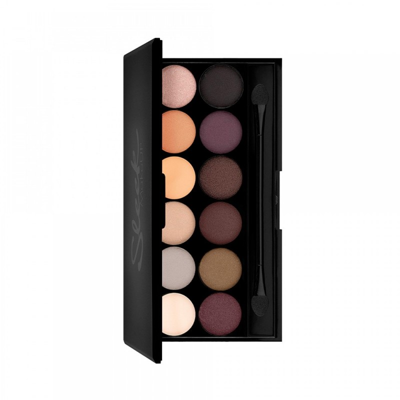 Paleta Sombras 12 Colores I-Divine Au Naturel Sleek