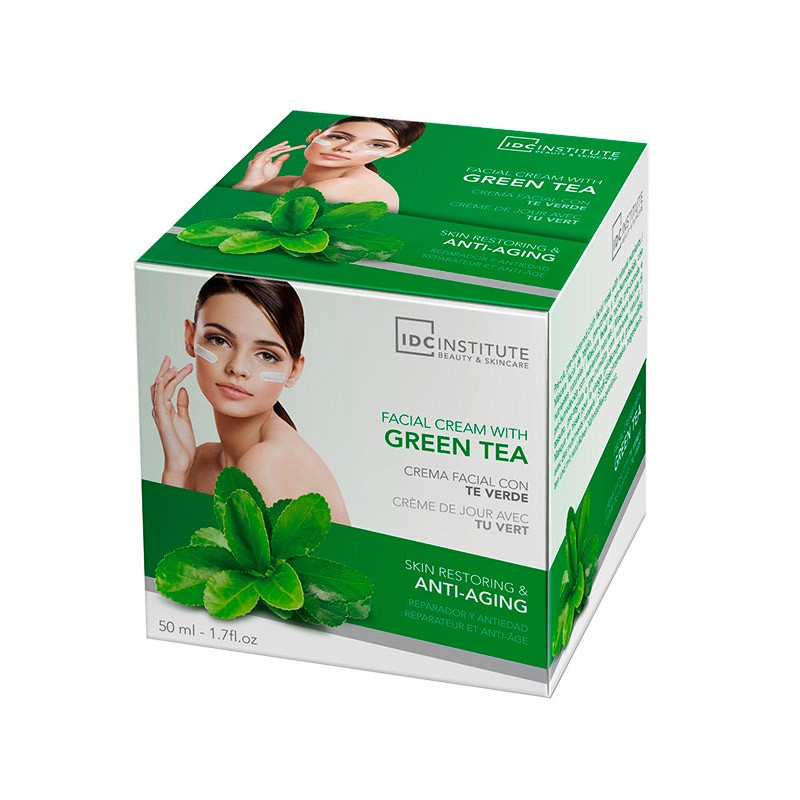 Crema Facial Té Verde Antiedad 50 ml