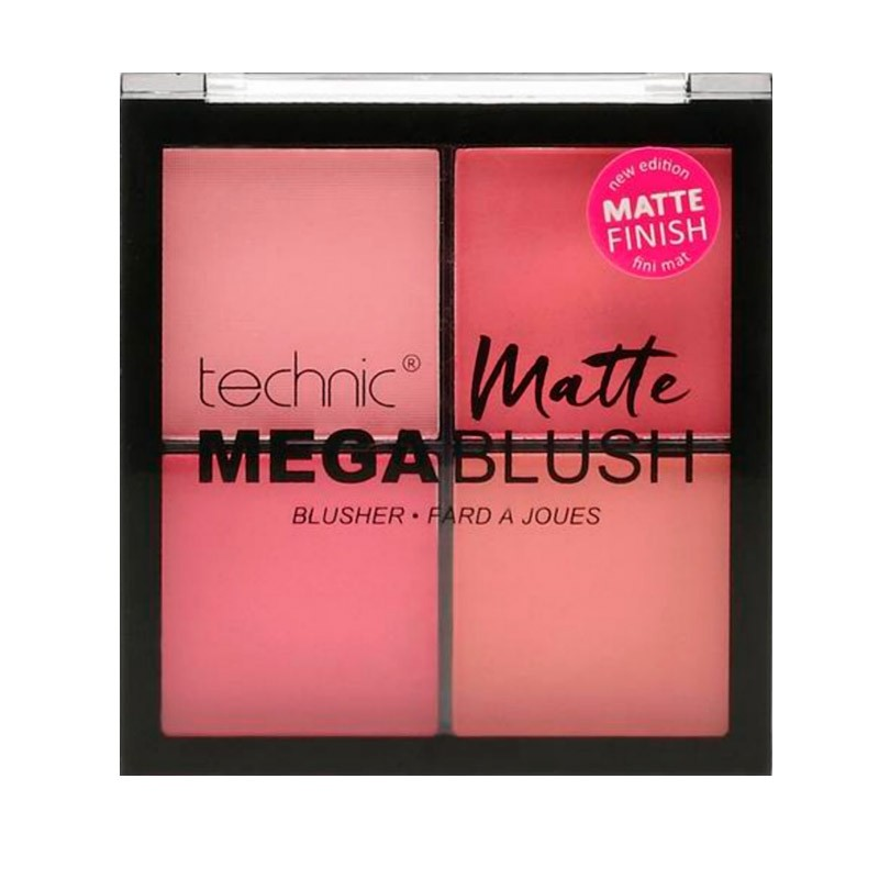 Paleta Coloretes Mega Mate Technic