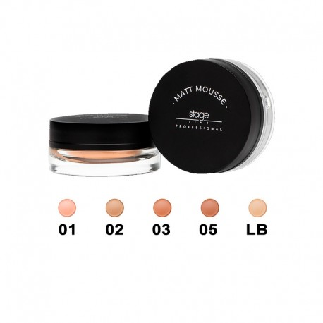 Matt Mousse Make Up 15 ml