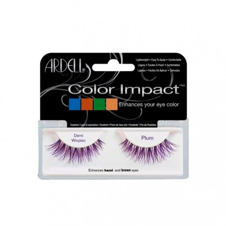 Pestañas Postizas Color Impact Demi Wispies Plum