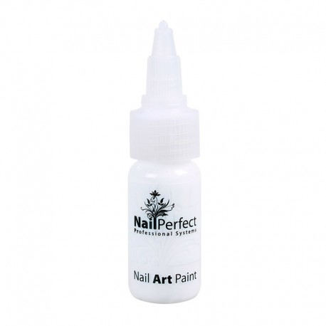 Nail Art Pen 002 Blanco Nieve 15 ml