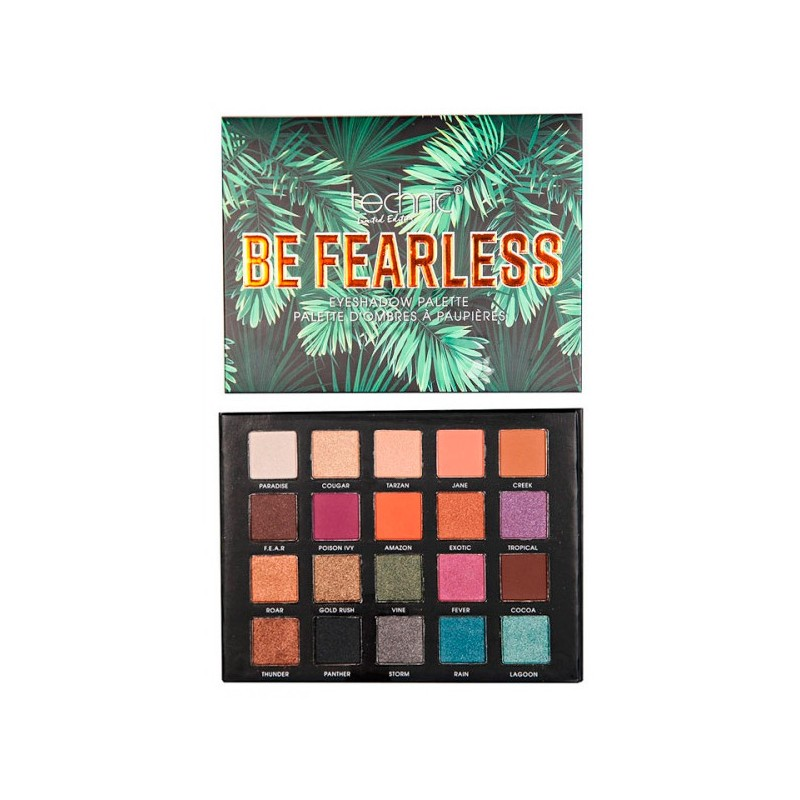 Paleta 20 Sombras Be Fearless Technic