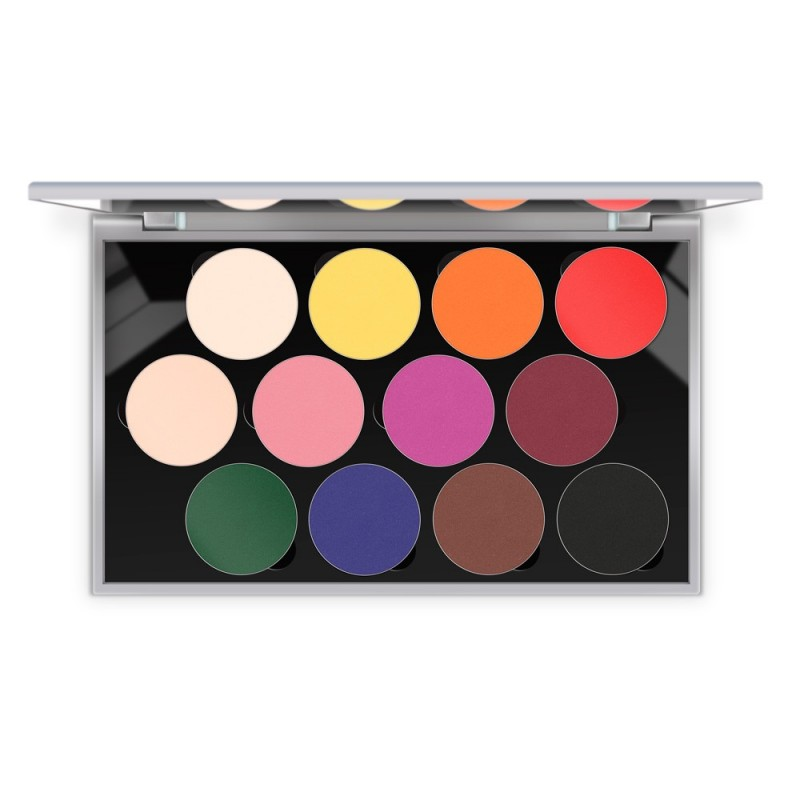 Sphere Eye Shadow Paleta Mate (12 Colores)
